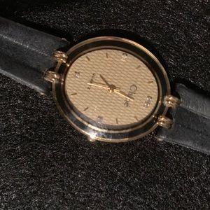 Vintage Chloe Quartz Watch Itraco Of Switzerland